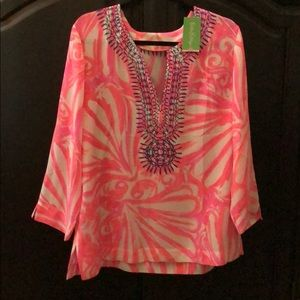 Lilly Pulitzer pull over tunic